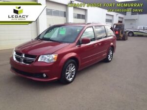 2015 Dodge Grand Caravan SXT PREIUM PLUS STOW & GO LOW KM 7 PASS