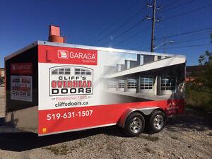 Garage door sales - service - repairs