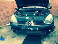 Clio front end