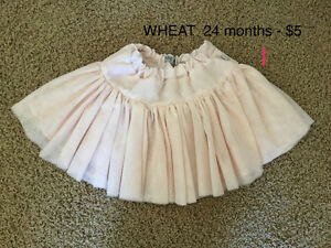 Assorted girls 24 months and 2T clothing