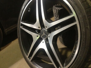 Mercedes benz AMG 20..Bolt pattern  5X112