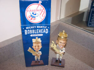 Limited Edition New York Yankees Mickey Mantle Bobblehead