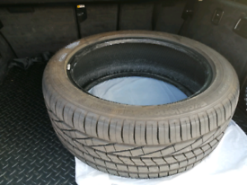 Goodyear Excellence BMW Run flat tyre almost new 245/45 R19 Y (98)