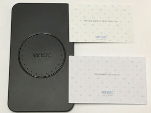 Vinsic 3 Coils QI Wireless Charger Pad - 58% OFF !
