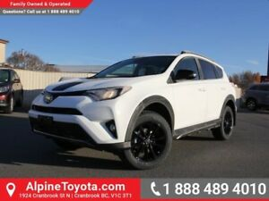 2018 Toyota RAV4 XLE Trail Package  Trail - AWD - A/T Tires - Bl