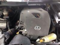 2006 Lexus is220 Diesel engine