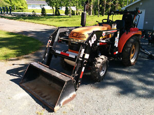 2007 Jinma 4WD Tractor, loader and backhoe