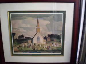 "A.J. Casson - "" Country Crisis "" -  Limited Edition Print"