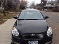 2009 Hyundai Accent ALS Sedan with summer AND winter tires!