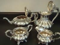 4 Pc. Tea/Coffee Set - Birks Regency Plate