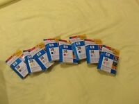 Full Set of 8 HP38 Colour Pigment Ink Cartridges