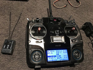 Graupner MX-20 HOTT 12 Channel RC Transmitter
