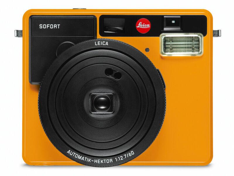 New Leica Sofort Instant Film Camera Orange Fuji Fujifilm In