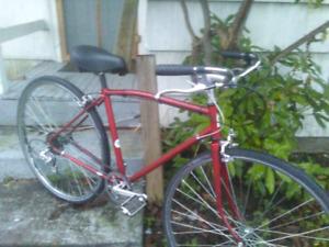 Womens, Vintage , 5 Speed , Road Bike ( new saddle )