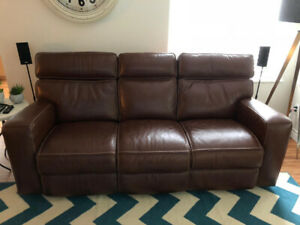Double electric reclining sofa (Sandy's furniture)
