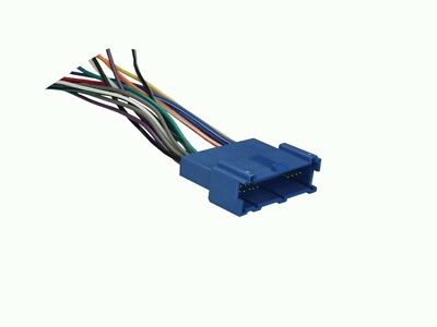 FOR SELECT 1995-2005 BUICK Radio Wiring Harness Adapter (Radio Wire Harness Buick Park)