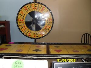 Roulette wheels and tables and other casino tables Stratford Kitchener Area image 5