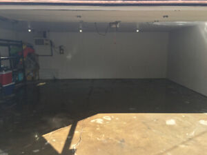 Garage rental heated storage can be used has a shop! ready now!