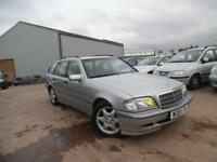 MERCEDES-BENZ ESPRIT C220 2.2TD AUTO CDI ESTATE FULL HISTORY