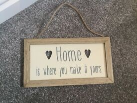 House / home hanging sign