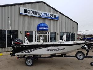 FRESH TRADE IN OF MIRROCRAFT 1415 WITH 40HP MERC