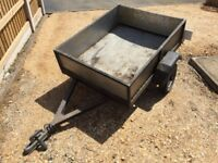 Small Metal trailer 3x4ft