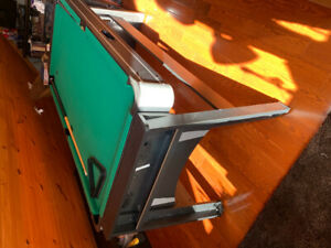 3 in one mini pool table/air hockey/ping pong table