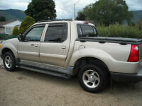 2005 Ford Explorer Sport Trac browm Pickup Truck