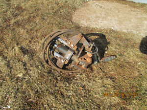HYD Power quick attach for skid steer  also harrow points and te