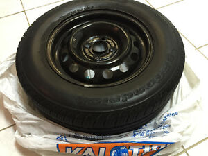 Used Set of All Season Tires with Wheel Rims
