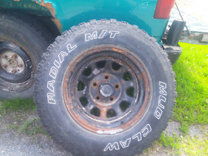 Set of Cooper Mud Claw on 15 inch rims