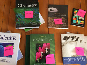Various Science and Social Science Textbooks - Must Go!