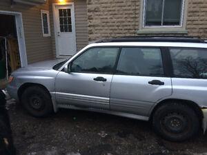 2002 Subaru Forester $1000 OBO