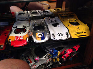 1/18 DIECAST PORSCHE COLLECTION FOR SALE MINT IN BOXES