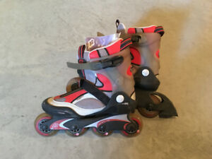 K2 Syncro LS-M roller blades size 8 and size 10