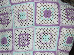 Beautiful Hand Crocheted Baby Afghan #5 - $25.00 Belleville Belleville Area image 3