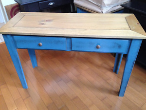 Gorgeous handmade in Ontario - Solid Pine Console Table - SALE