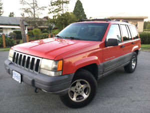 1500$ JEEP Grand Cherokee 4WD NEWish Brakes & Tires! from BC