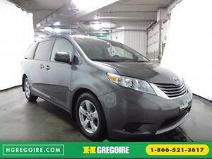 2016 Toyota Sienna LE V6 3.5L 8PASSAGERS CAMÉRA  BLUETOOTH MAGS