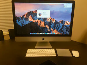 "Apple iMac 27"" 2.7GHz i5, 16GB RAM, 1TB HD"