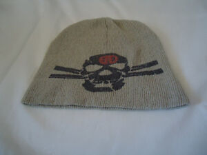 Beige Toque with Gray Skull Size 6-8 Years! Kingston Kingston Area image 1