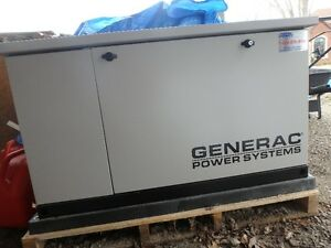 Generac 16KW generator with auto transfer switch.