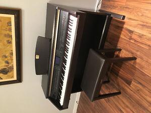 Digital Yamaha Clavinova CPV-501 Piano