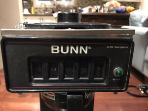 BUNN CW15-TS THERMAL SERVER (POUROVER) - No Water line required