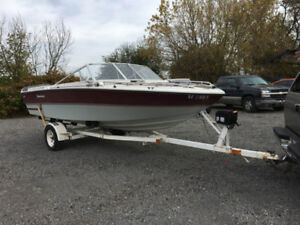 Motor, Out Drive,  Boat and Trailer