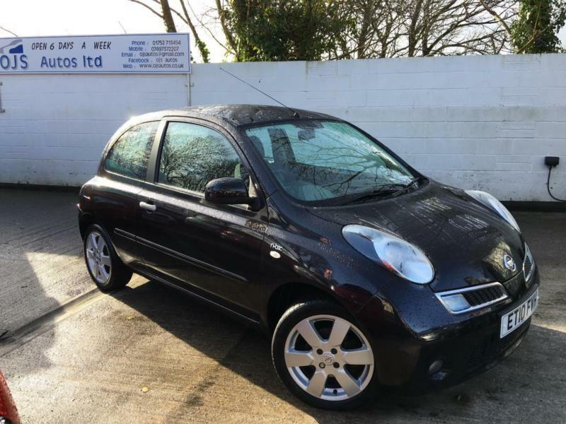 nissan 2010 micra n tec dci 1 5 diesel manual in black in plymouth devon gumtree. Black Bedroom Furniture Sets. Home Design Ideas