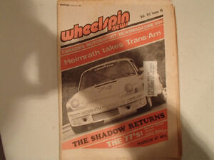 Vintage Collection of 6 WHEELSPIN NEWS Canada's Motorsport News Sarnia Sarnia Area image 3