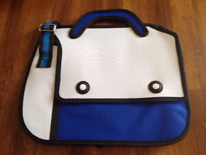 NEW 3D Cartoon shoulder bag - blue or purple - Credit Card Accep
