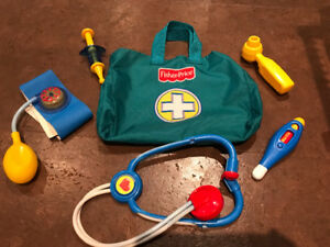 Fisher Price Doctor Set - Excellent Condition