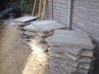 Free heavy duty patio slabs